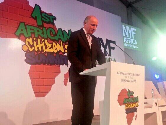 Intervention auprès de jeunes Africains @NYFAfrica à #Libreville #Gabon #NYFA #diploéco http://t.c..