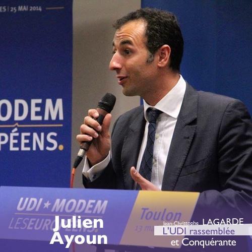 Il rejoint le #RassemblementUDI : merci à @JulienAyoun, SecNat. Justice du @PartiRadical, Membre d..