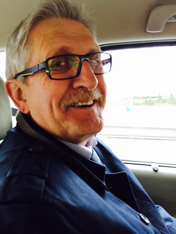 En voiture avec le maire de #Limoges mon ami Emile-Roger pour la dernière journée de campagne #dep..