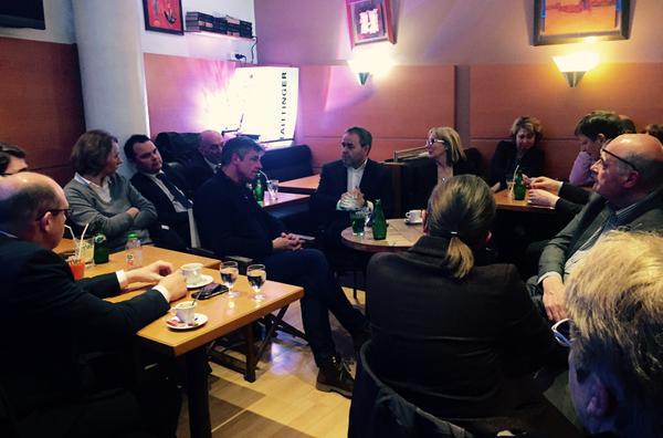 Retours de campagne et échanges à #Amiens avec les candidats aux #départementales2015 http://t.co/..