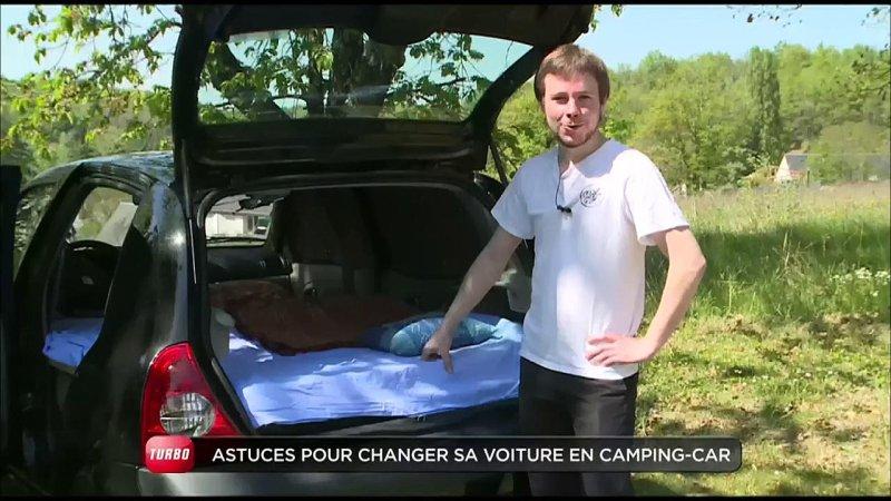 conso comment transformer votre voiture en camping car emission turbo du 31 05 2015 actu. Black Bedroom Furniture Sets. Home Design Ideas