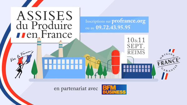 J-3 avant les Assises du #ProduireEnFrance à Reims 🇫🇷 Inscriptions sur http://t.co..