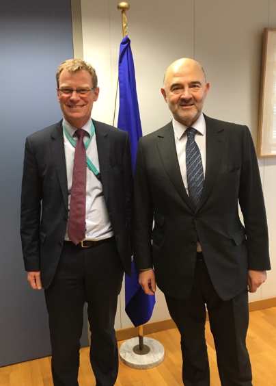 Rencontre très positive ac @stephen_quest, nouveau DG @EU_Taxud:ambition commune pr fiscalité et d..