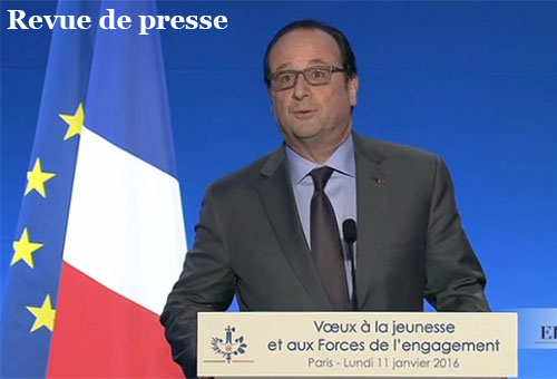 les voeux de fran ois hollande la jeunesse ont co t 250 000 euros pour un discours de 29. Black Bedroom Furniture Sets. Home Design Ideas