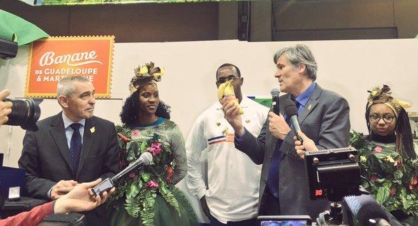 Soutien à la production de la Banane de #Guadeloupe & #Martinique. Qualité et respect de l&rsq..
