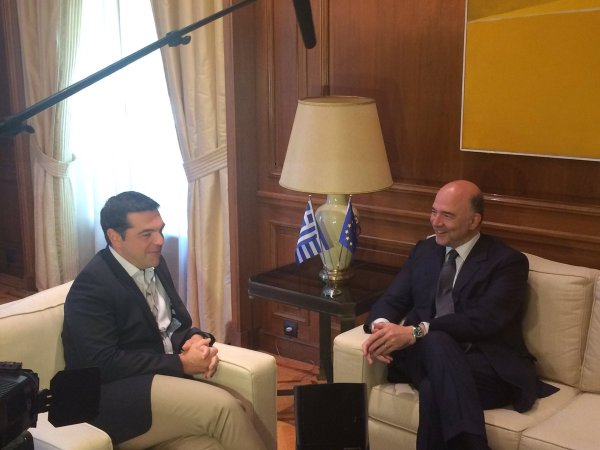 A year after the agreement between #Greece & its #eurozone partners, discussing next steps w/ ..