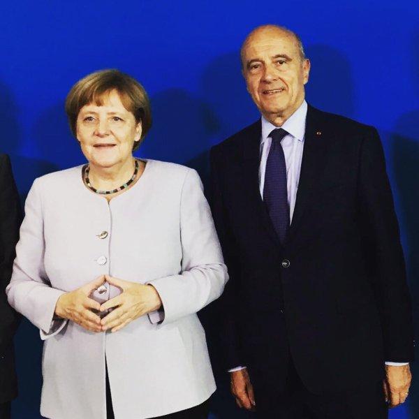 Convergence de vues et échanges fructueux avec Angela Merkel. https://t.co/YZz1s9IOFk
