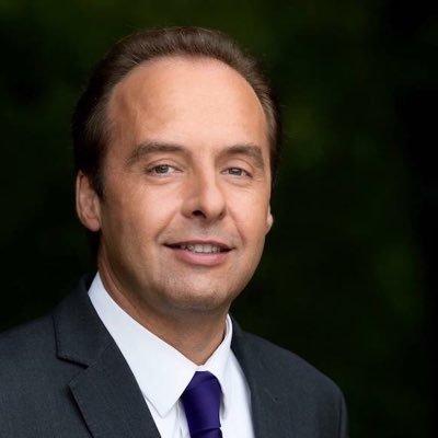 Échange sympathique avec J.-G. Paumier, Président du Conseil départemental 37, A. Guillemin, Maire..