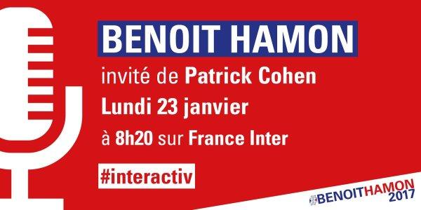 Retrouvez-moi à 8h20 sur @franceinter face à Patrick Cohen puis dans #interactiv #le79inter https:..