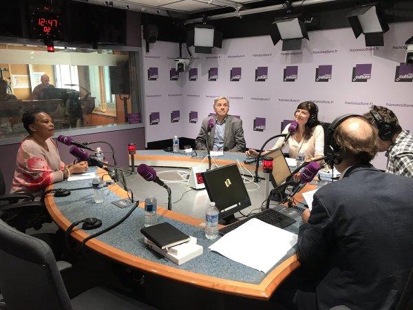 L'@Atelierpouvoir avec P. Braud, @ArianeChemin, @ThomasWieder et V. Martigny, c'est ma..