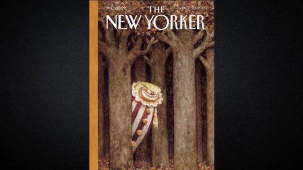 Une du New Yorker. Le President clown.  https://t.co/xHpXyrFpSo
