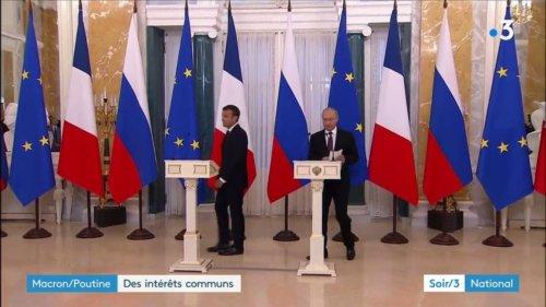 Rencontre entre Poutine et Macron : accords sur le nucléaire iranien et la Syrie