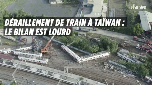 Déraillement de train mortel à Taïwan